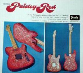 Pink paisley advert